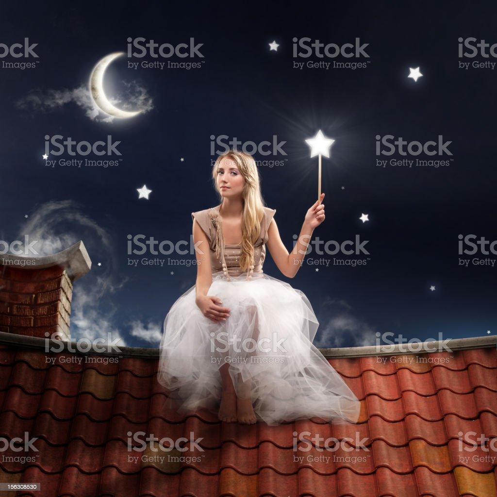 Fairy stars stock photo