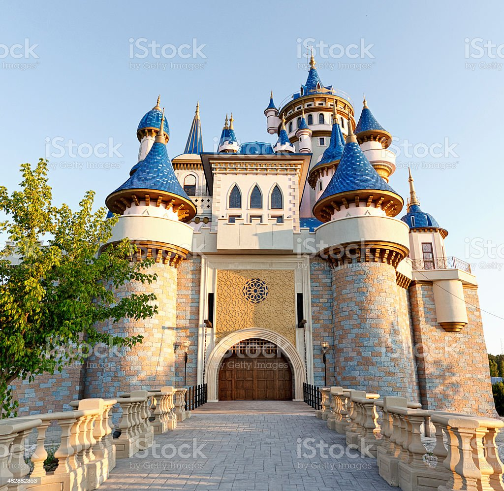 Fairy Tale Castle stock photo
