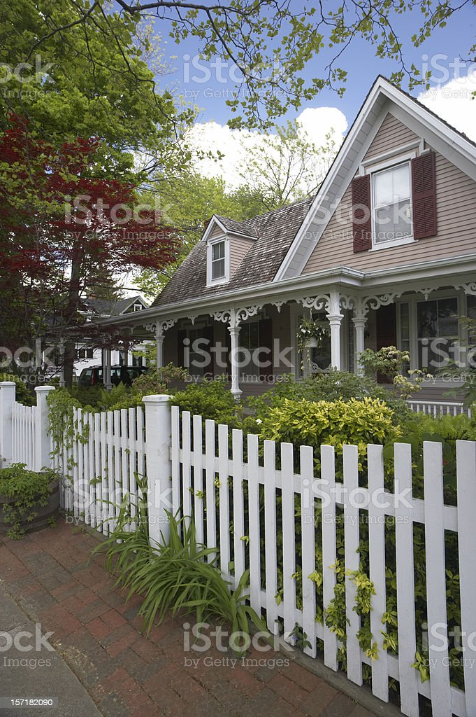 Fairy tale house royalty-free stock photo