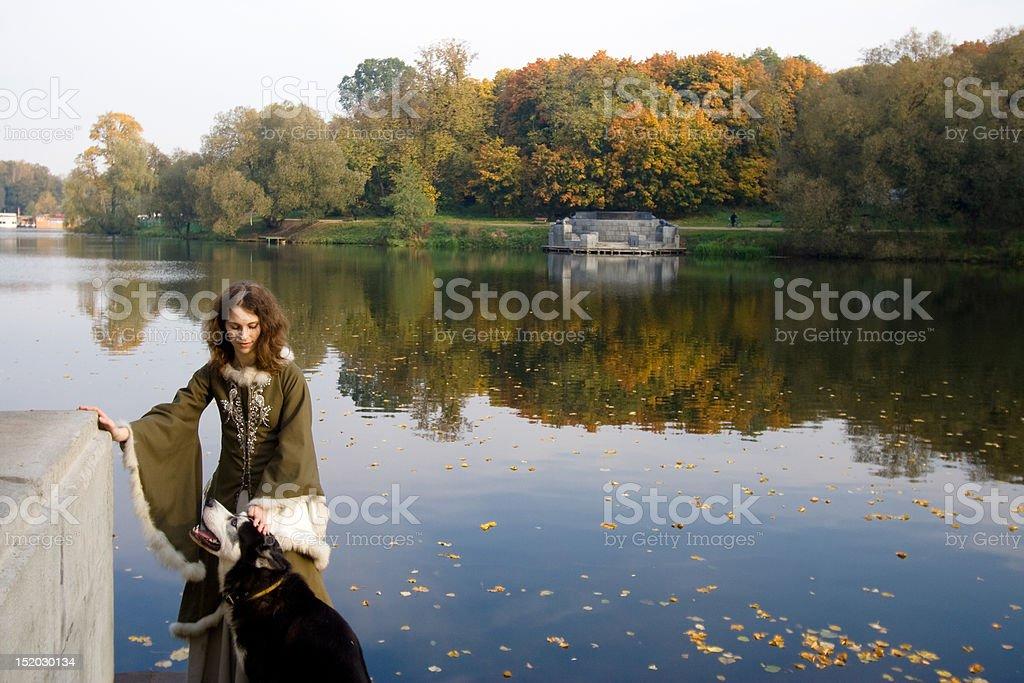 Fairy tale illustration royalty-free stock photo