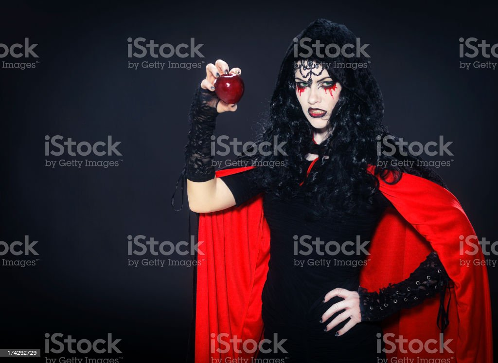Fairy Tale Witch stock photo