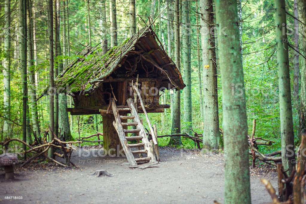 Fairy witch house royalty-free stock photo