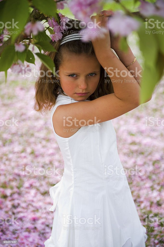 fairytale girl royalty-free stock photo