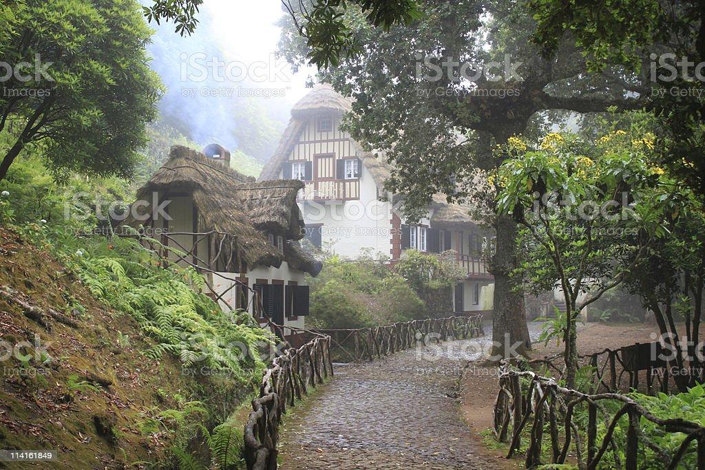 fairytale scene royalty-free stock photo