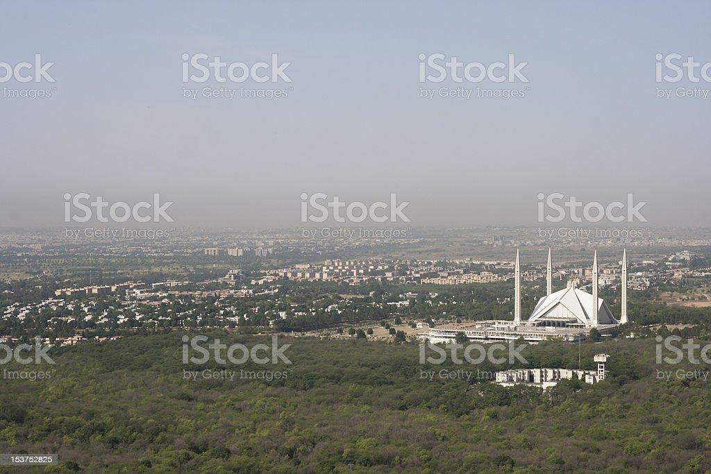 Faisal Masjid stock photo