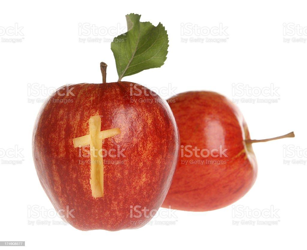 Faith Apple royalty-free stock photo