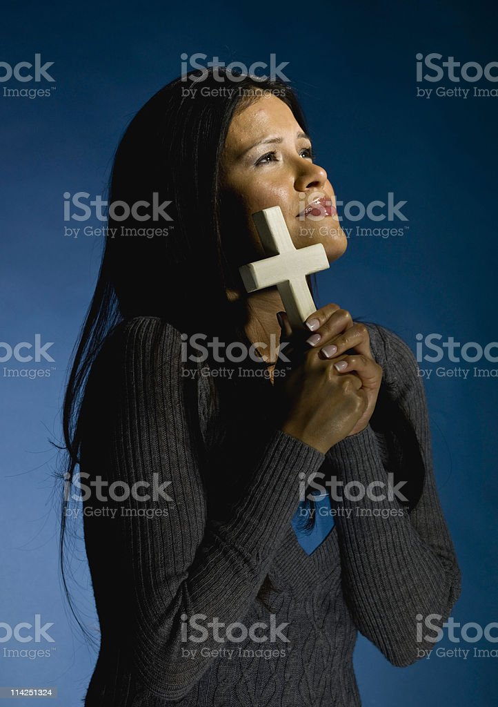 Faith in Jesus royalty-free stock photo