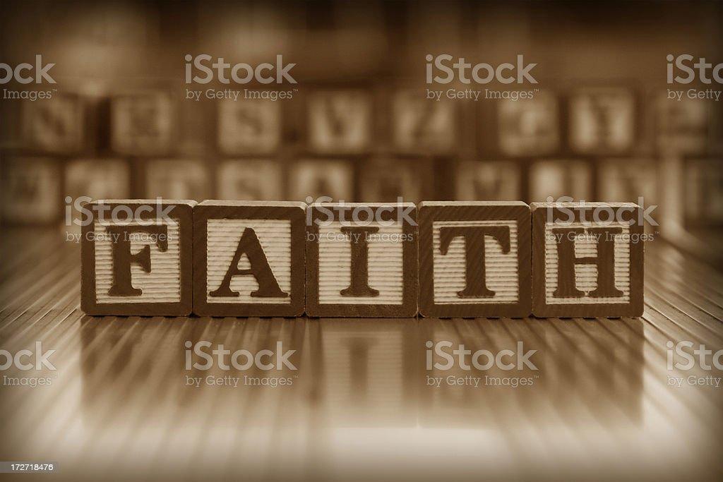 faith (#4 of series) royalty-free stock photo