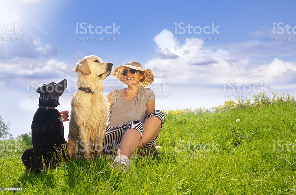 Faithful friend royalty-free stock photo