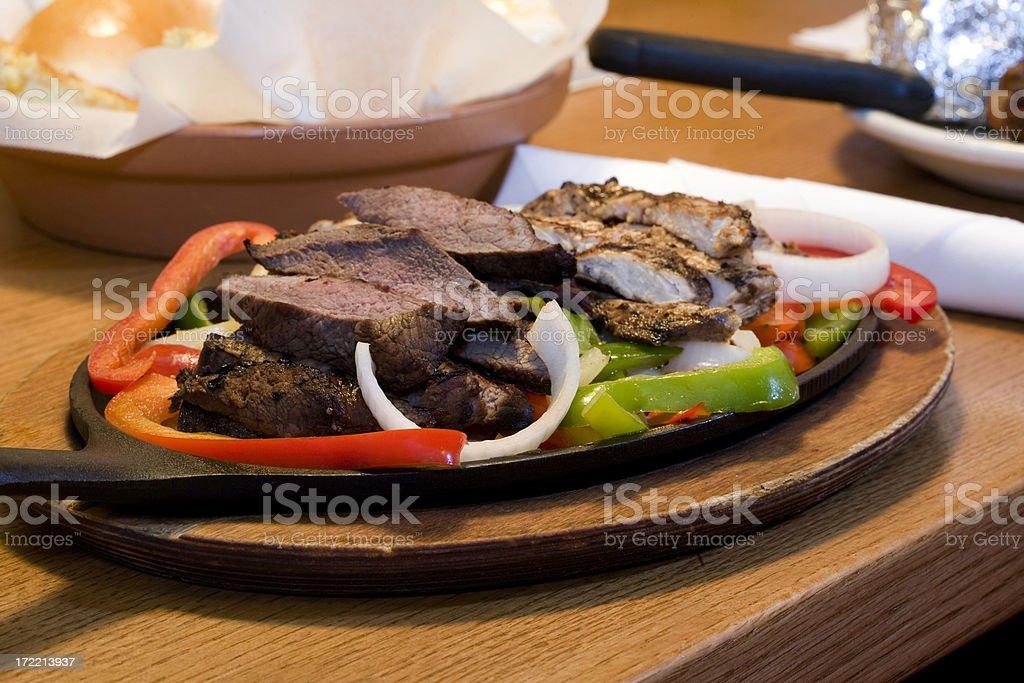 Fajita Dinner royalty-free stock photo