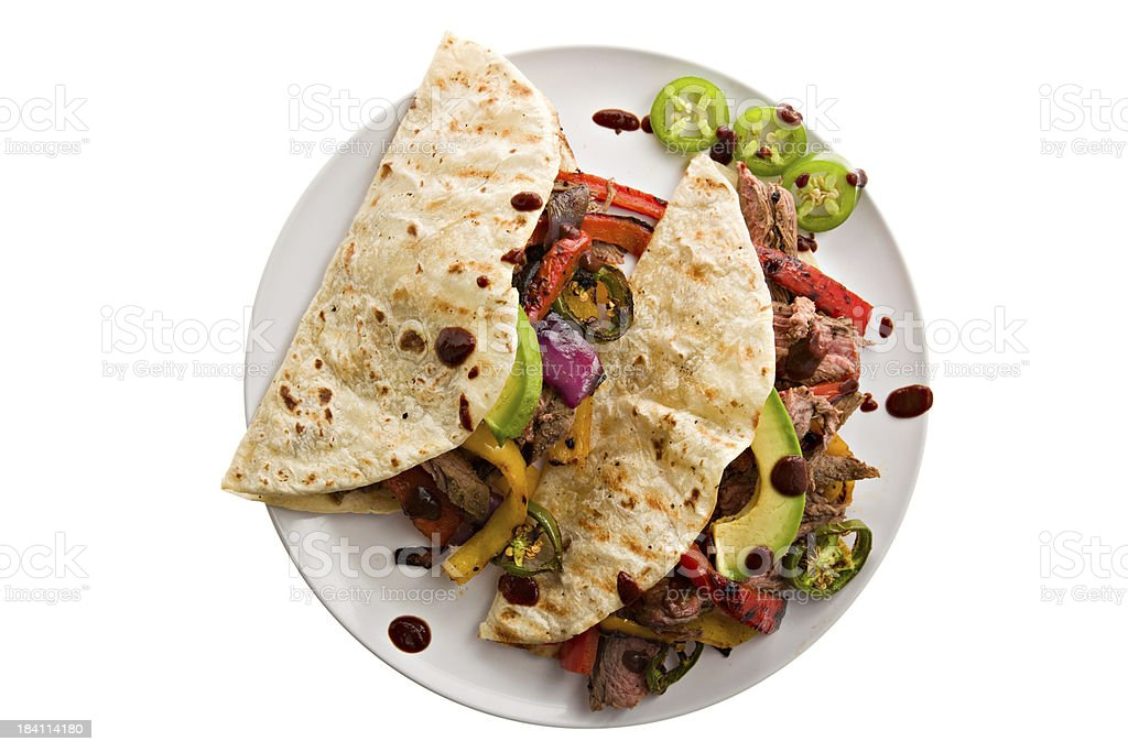 Fajita Tacos stock photo