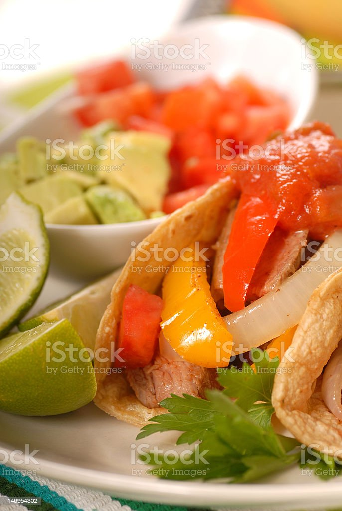 fajitas royalty-free stock photo