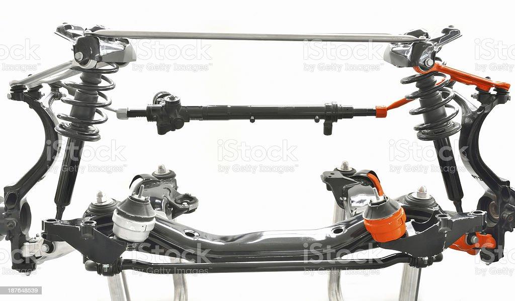 fake and original  mechanics part royalty-free stock photo