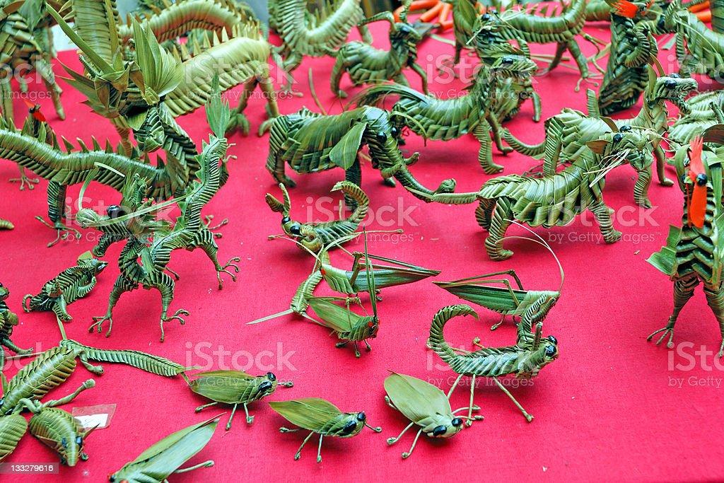 Fake creatures royalty-free stock photo