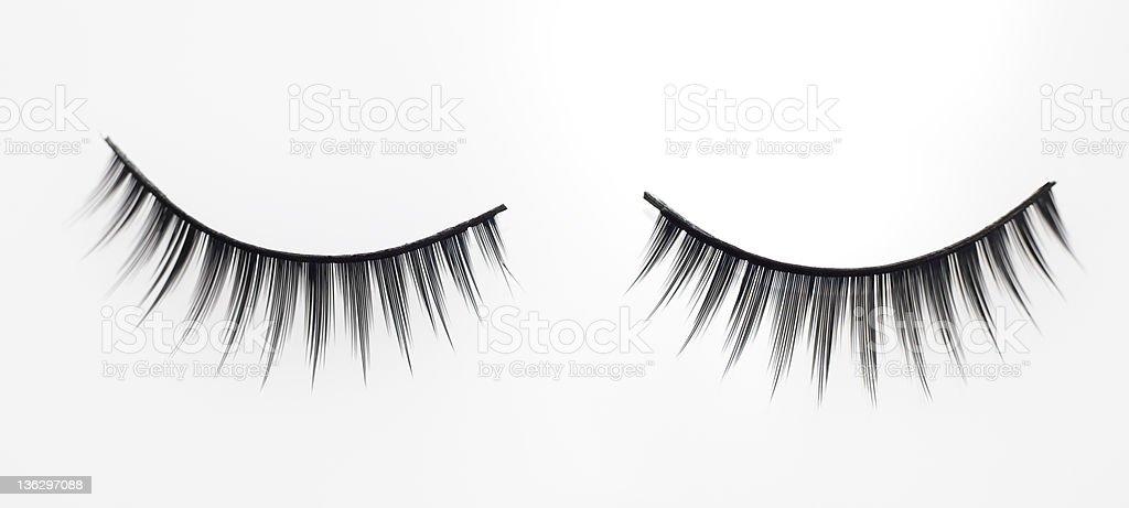 Fake eyelashes. royalty-free stock photo