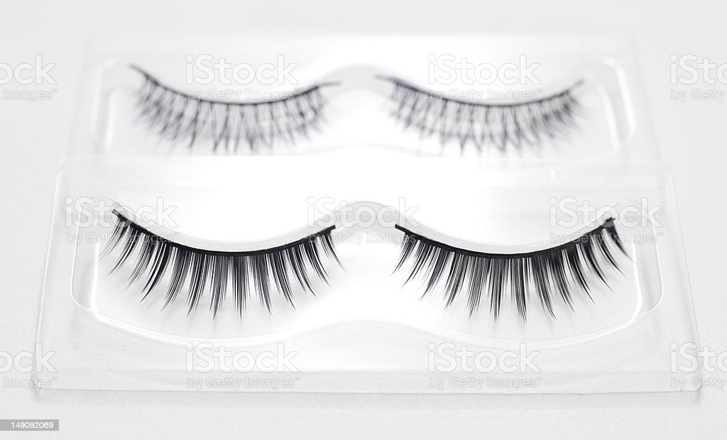 Fake eyelashes. royalty-free stock photo