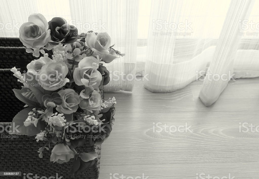 fake flower stock photo