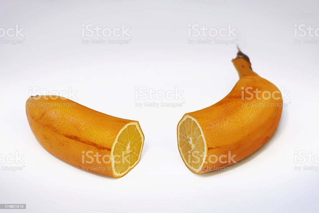 Fake Fruit royalty-free stock photo