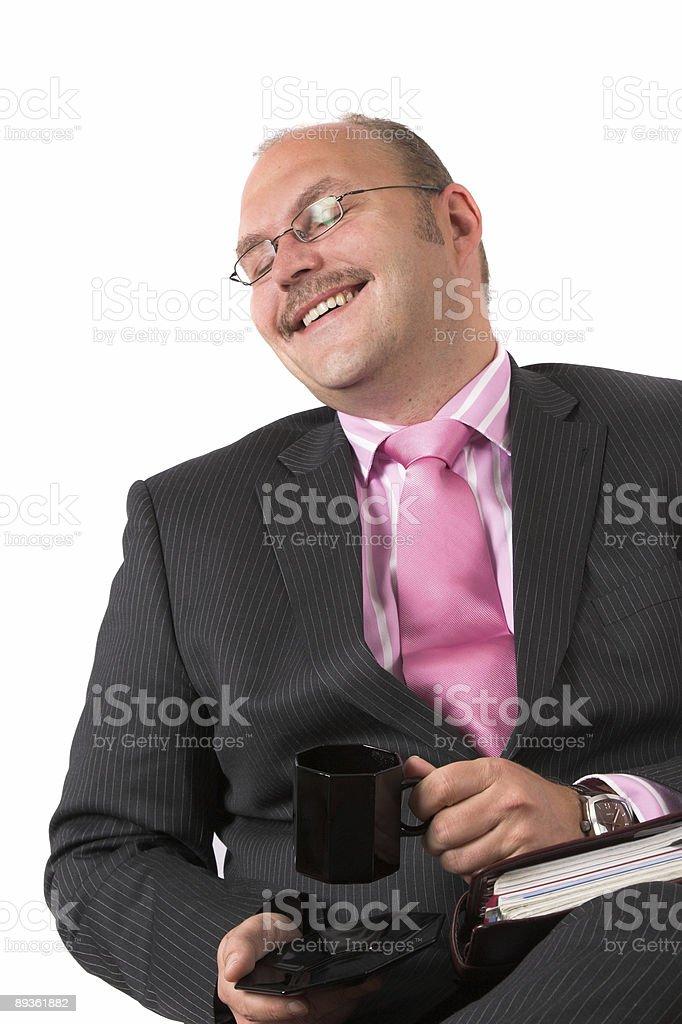 Fake laugh royalty-free stock photo