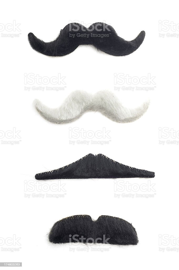 Fake Mustaches stock photo