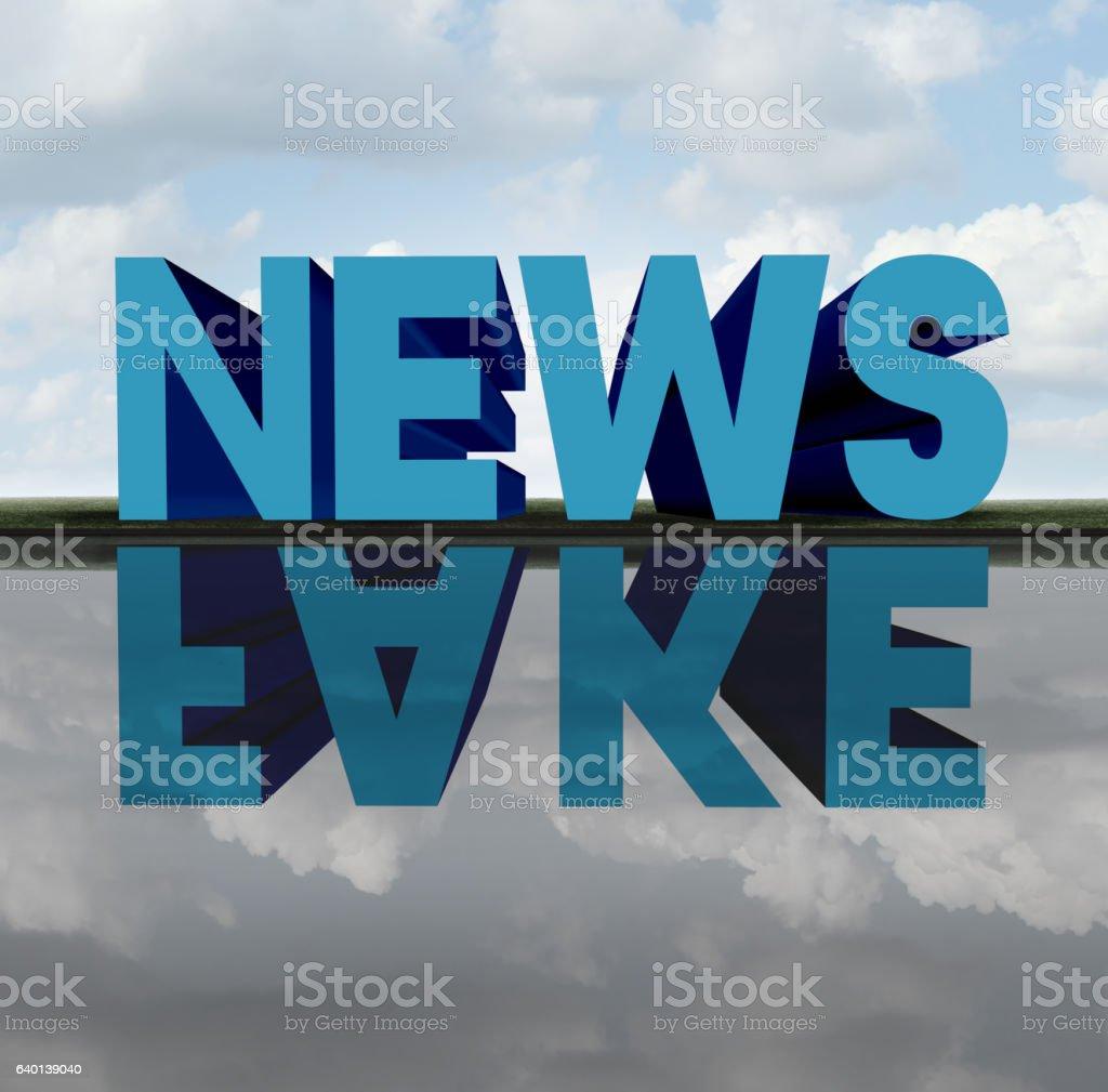 Fake News stock photo