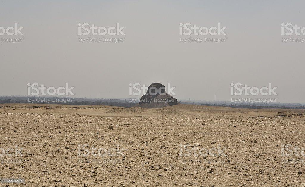 Fake Pyramid stock photo
