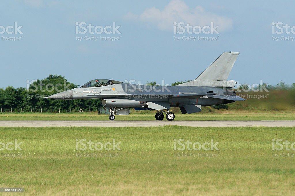 Falcon F-16 royalty-free stock photo