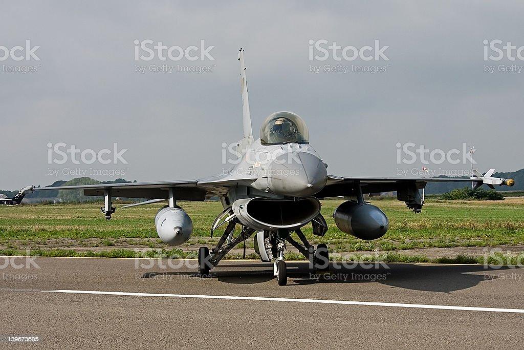 F-16A Falcon royalty-free stock photo