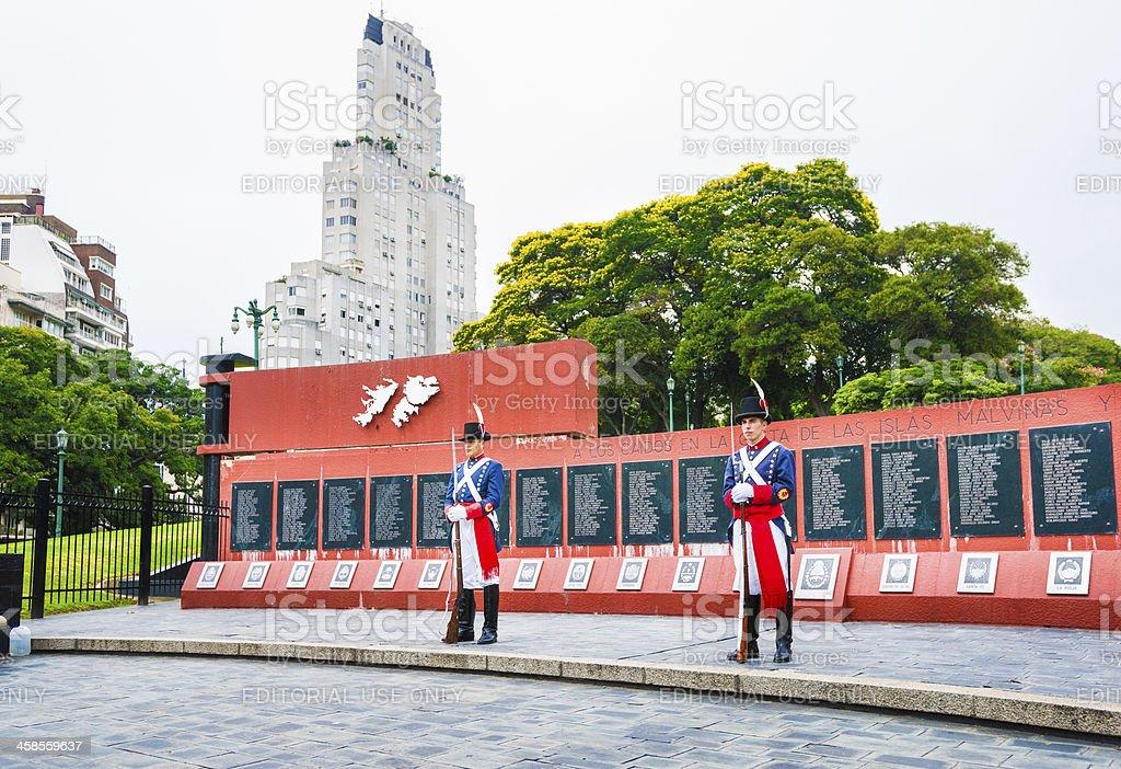 Falklands War Memorial (A los Caidos en Malvinas) Buenos Aires stock photo