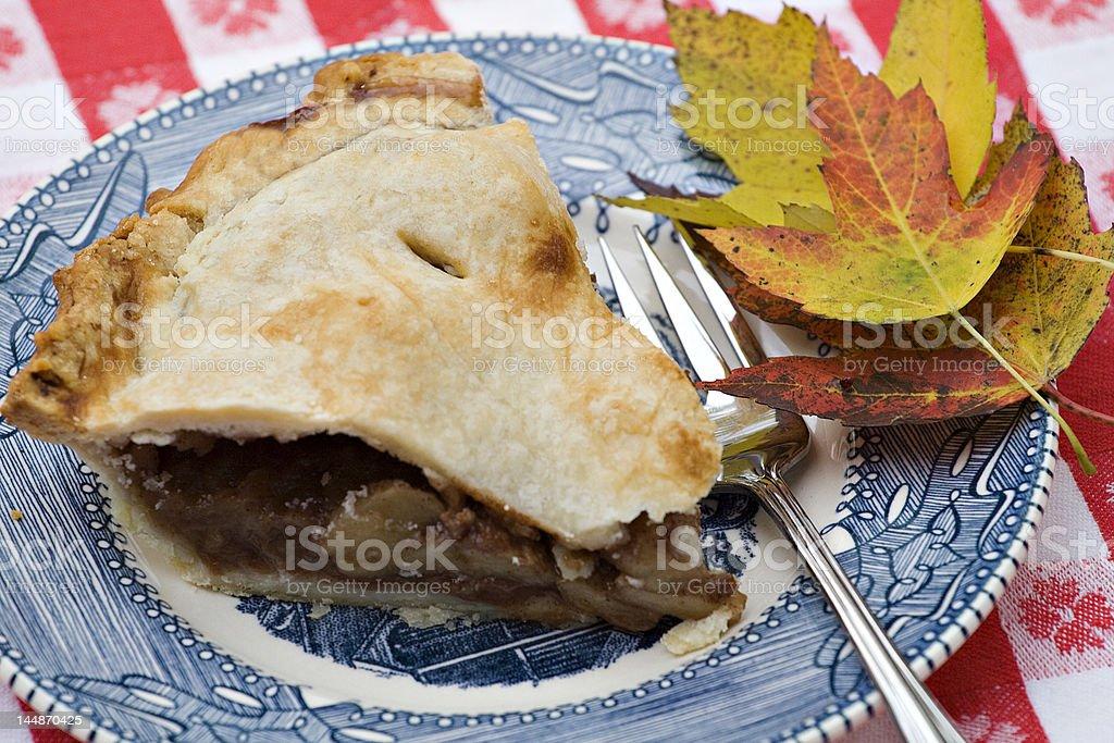 Fall Apple Pie royalty-free stock photo