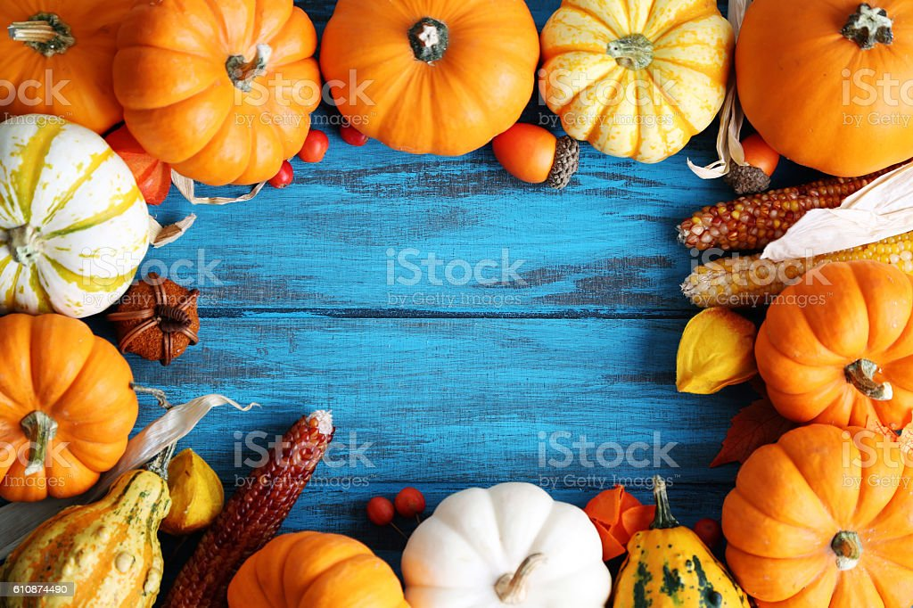 fall arrangement stock photo