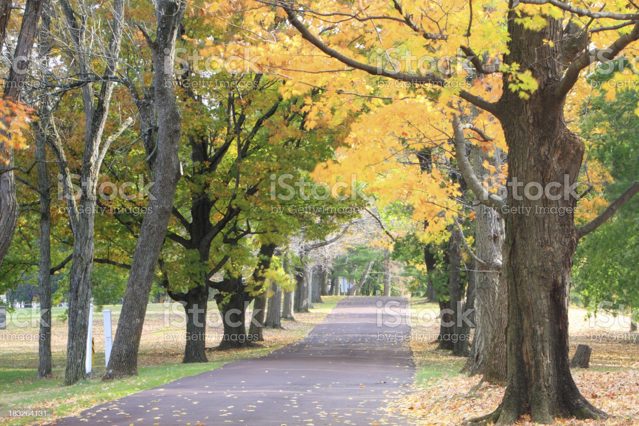 Fall at Audubon royalty-free stock photo