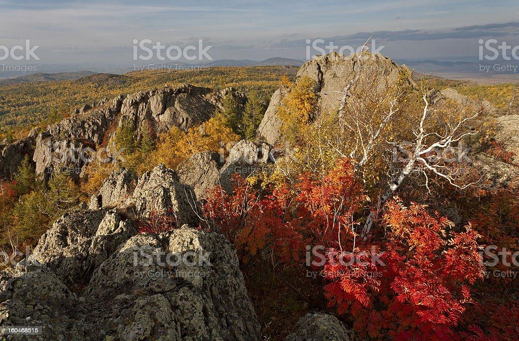 Fall at Urals royalty-free stock photo