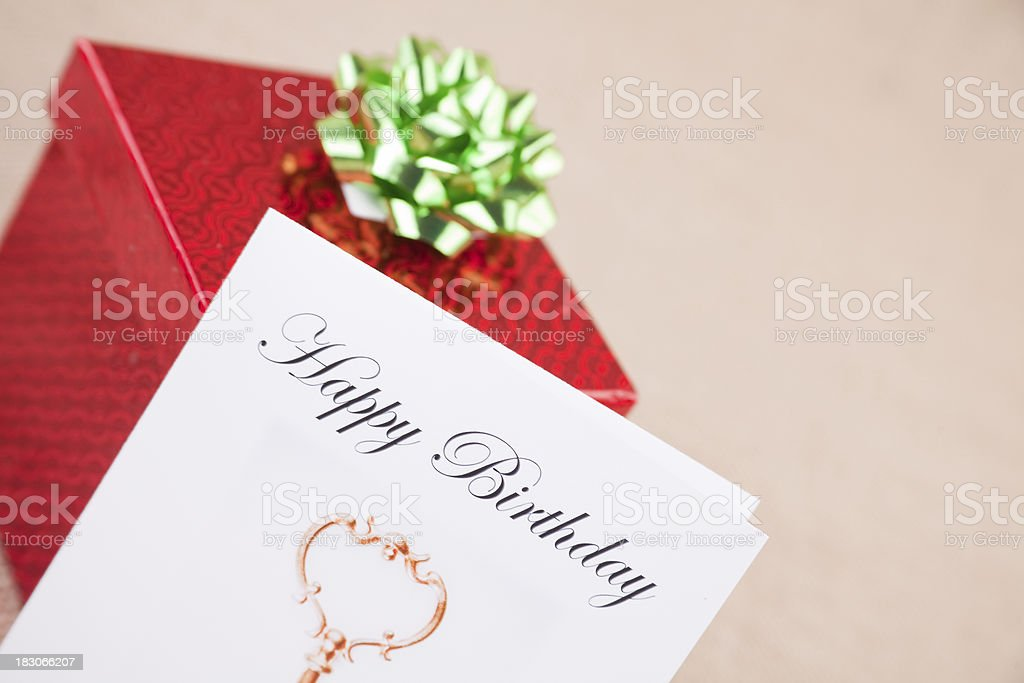 Fall Birthday Gifts royalty-free stock photo
