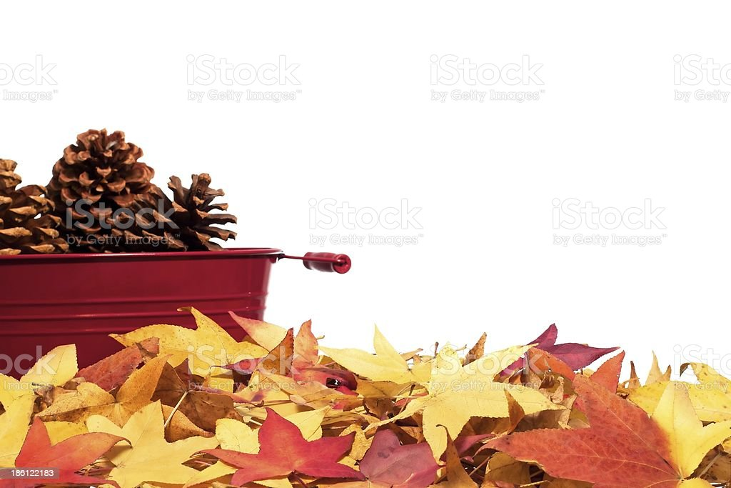 Fall Border 5 royalty-free stock photo