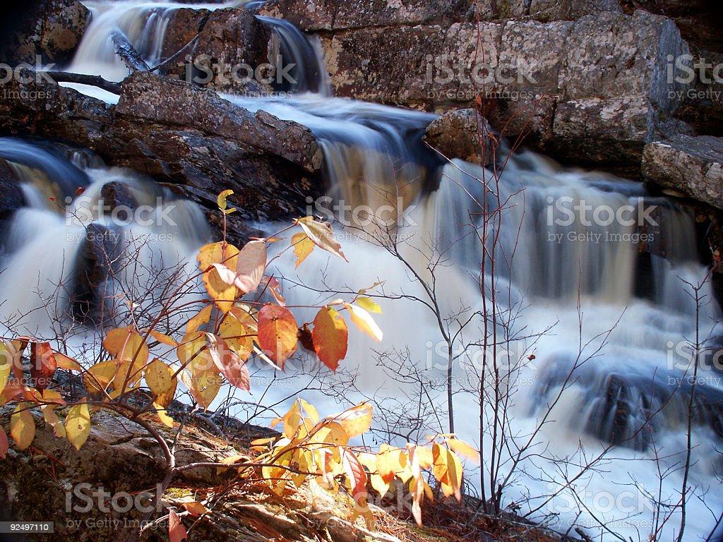Fall Cascade royalty-free stock photo