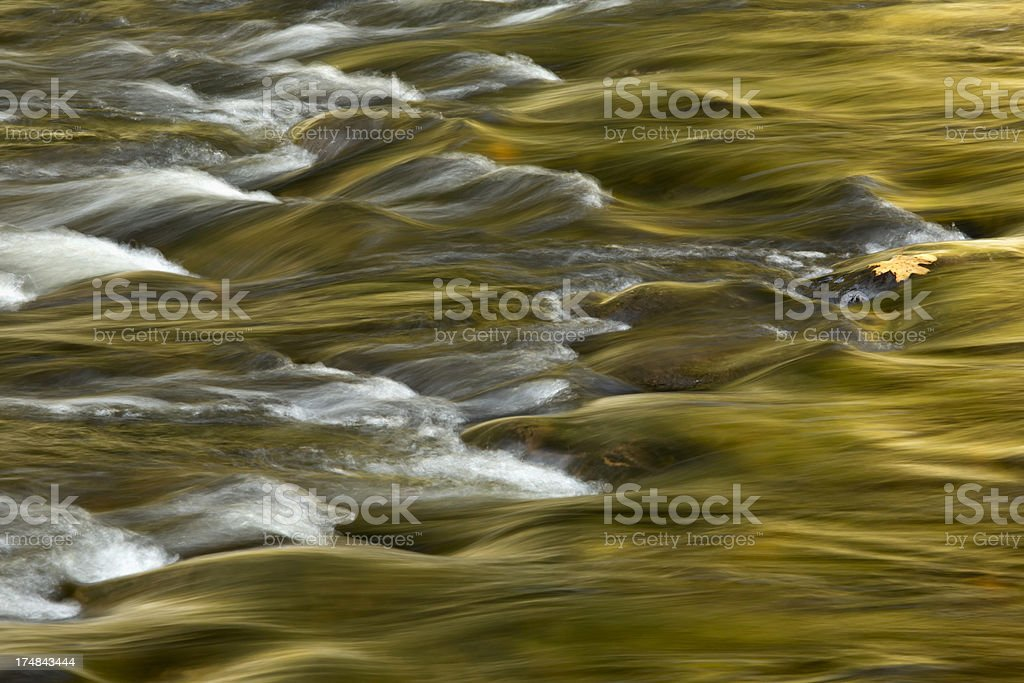 Fall Color Reflection royalty-free stock photo