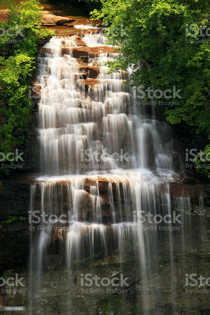 fall creek falls stock photo