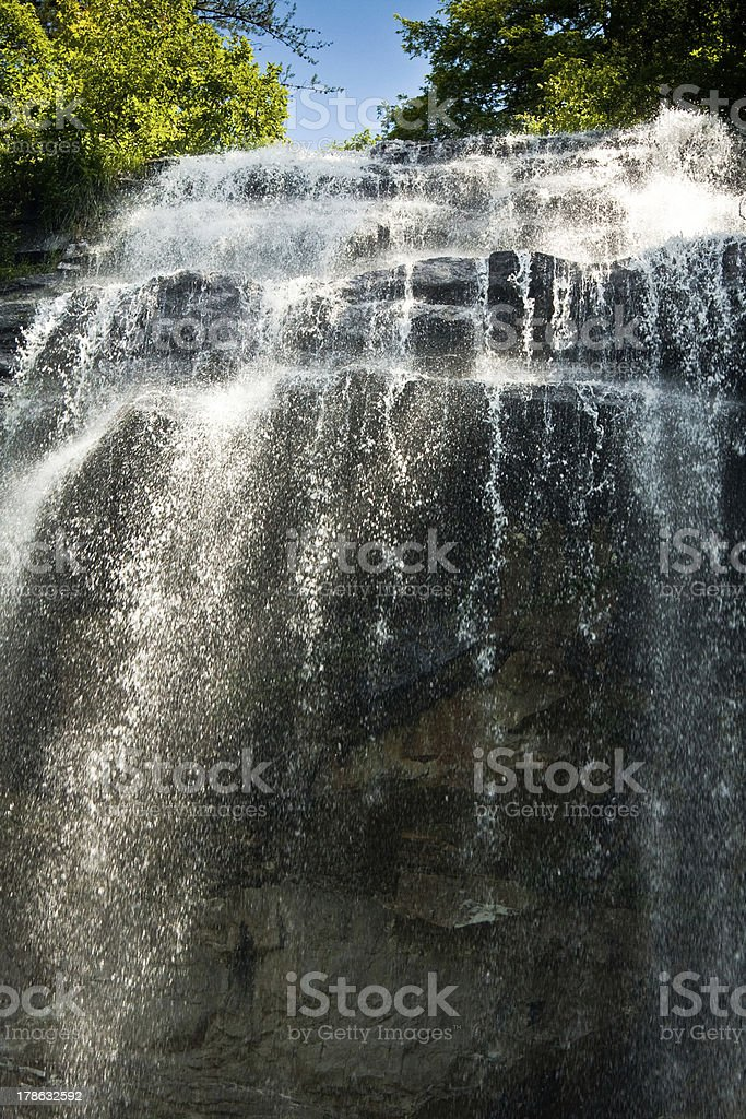 Fall Creek Falls, Tennessee stock photo