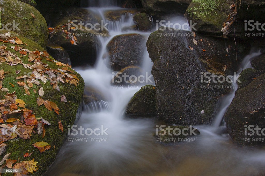 Fall Creek stock photo