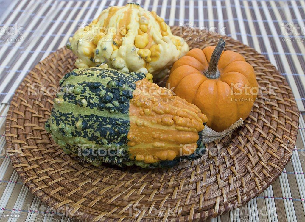 Fall Decoration stock photo