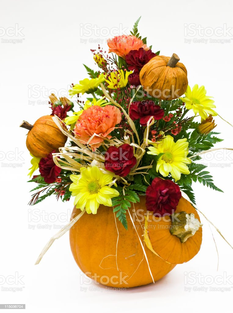 Fall Flower Arrangement royalty-free stock photo