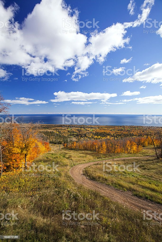 Fall Foliage in Minnesota stock photo