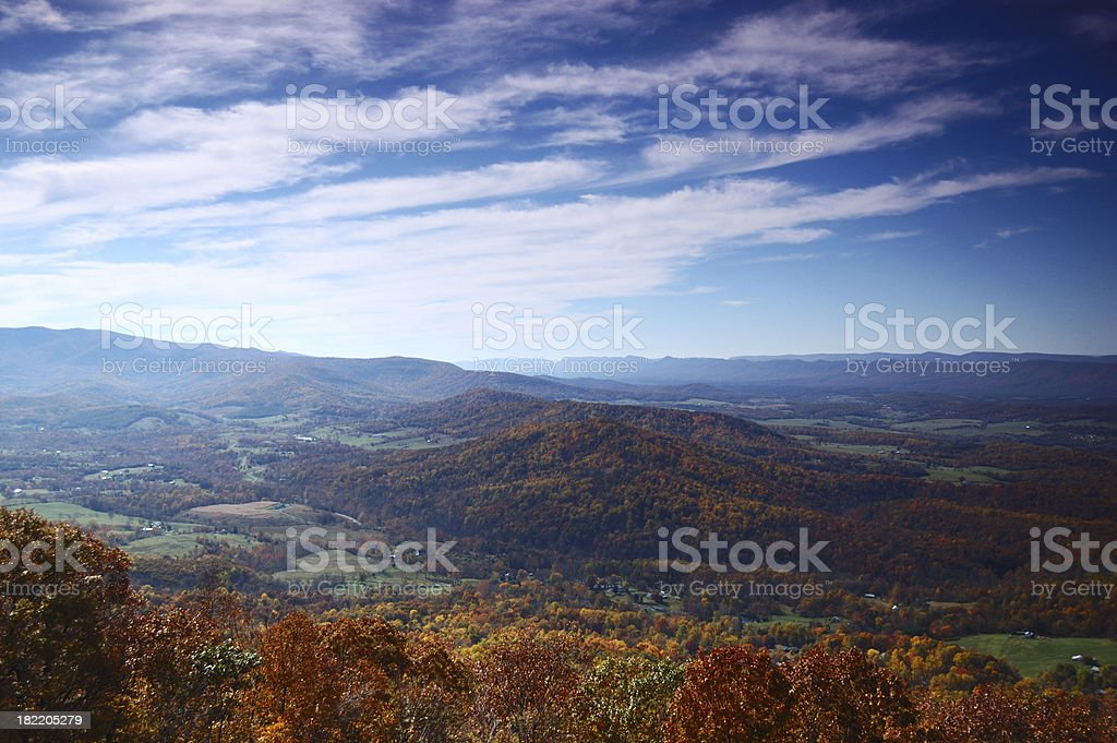 Fall Foliage royalty-free stock photo