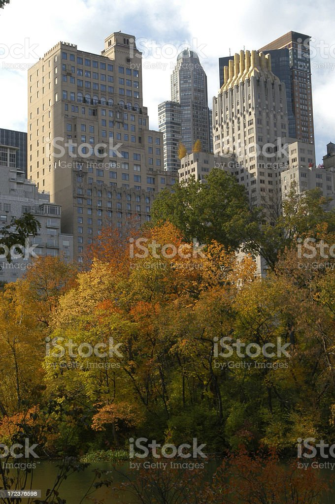 Fall for New York City royalty-free stock photo