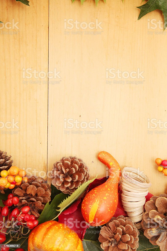 Fall frame edges royalty-free stock photo