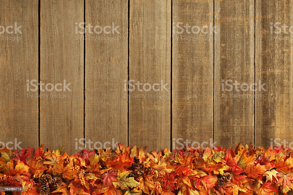Fall Garland royalty-free stock photo