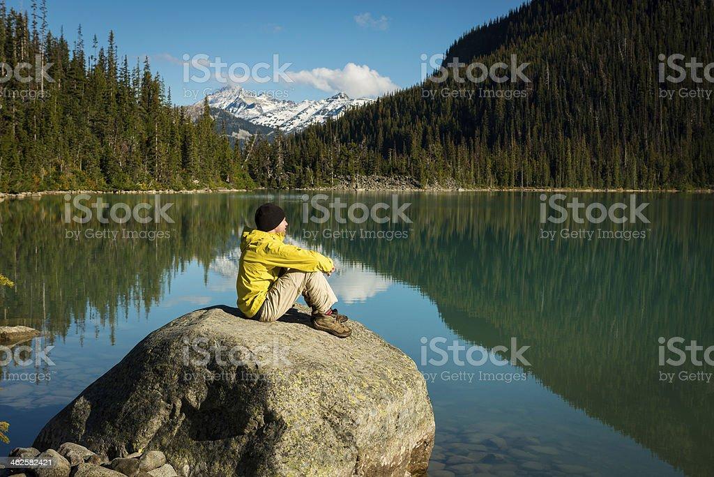 Fall Hike royalty-free stock photo