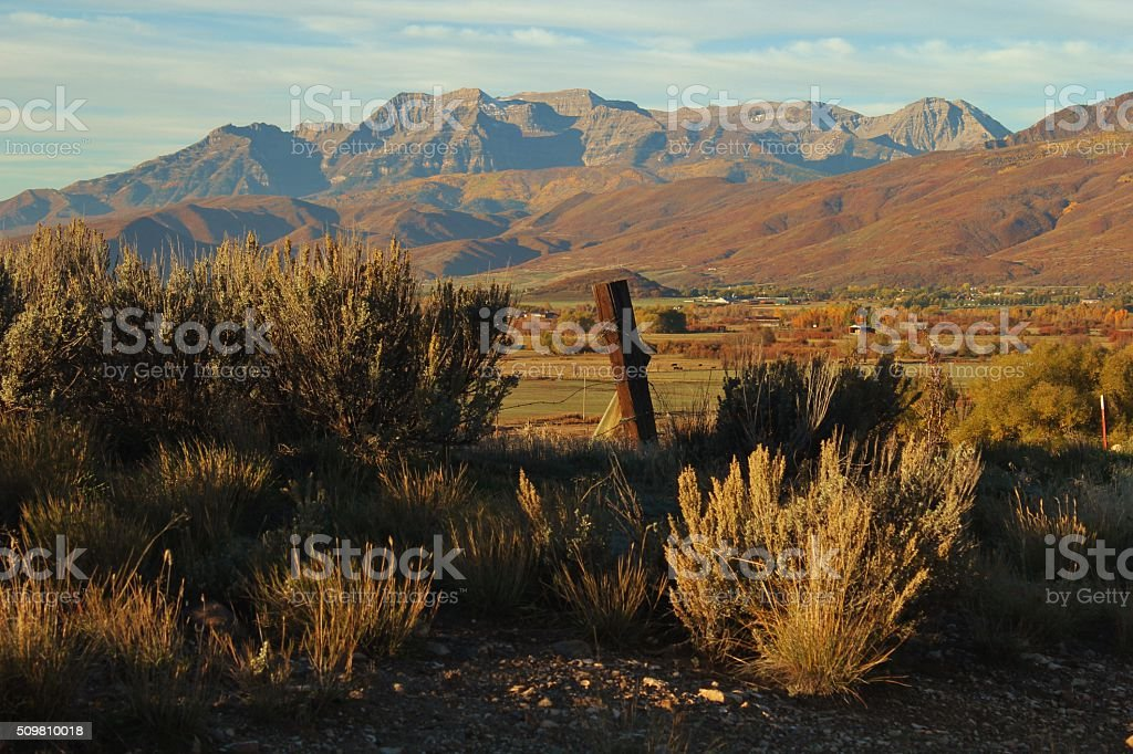 Fall in Heber Valley stock photo