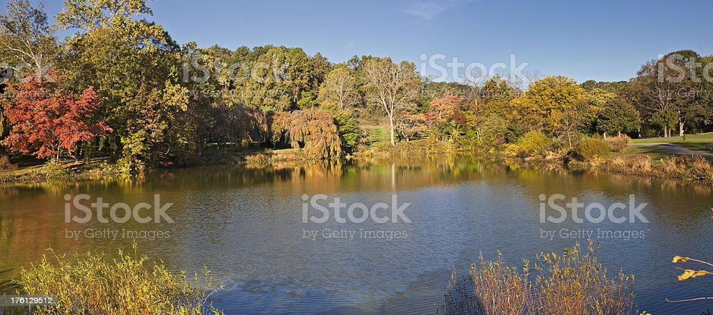 Fall in New Jersey stock photo